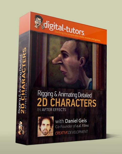 Digital - Tutors - Creative Development: Rigging and Animating 2D Characters in After Effects with Daniel Gies