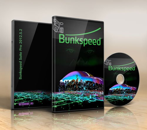 Bunkspeed Suite Pro 2012 5.2 x64Bit + Contents