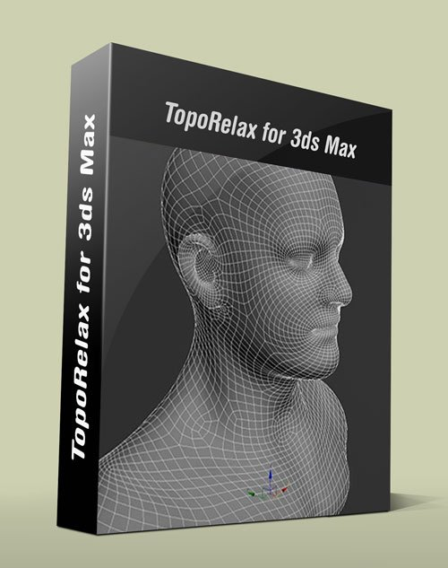 TopoRelax 1.0 For 3Ds Max