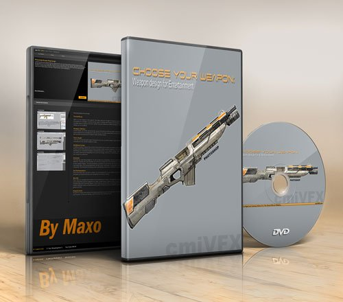 cmiVFX – Photoshop Weapon Prop Design