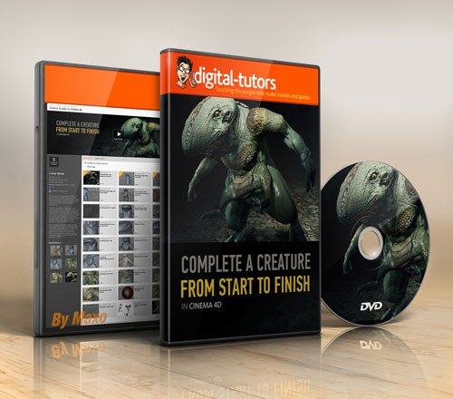 Digital -Tutors - Creature Creation in CINEMA 4D