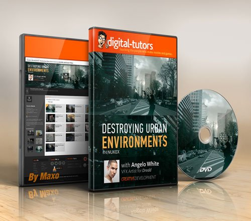 Digital - Tutors - Creative Development: Destroying Urban Environments in NUKEX