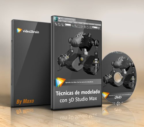video2brain – Modeling techniques with 3D Studio Max