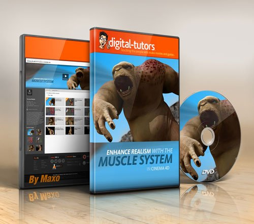 Digital - Tutors - Utilizing the Muscle System in CINEMA 4D