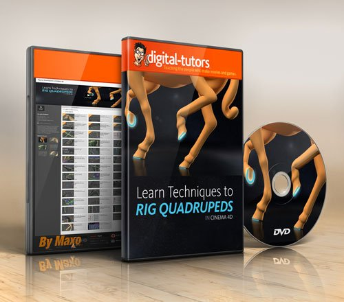 Digital - Tutors - Rigging Quadrupeds in CINEMA 4D
