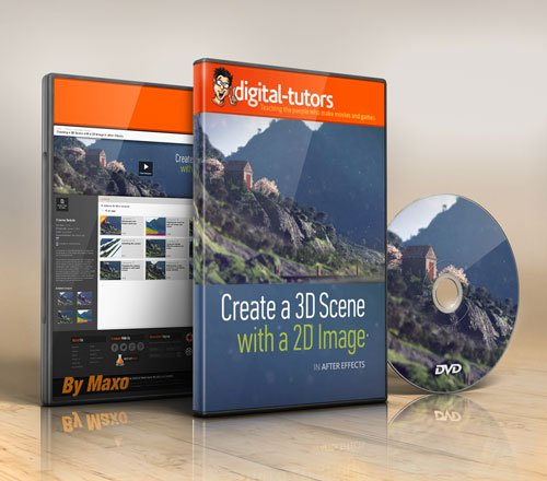 Digital - Tutors - Creating a 3D Scene with a 2D Image in After Effects