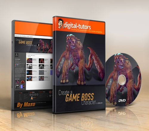 Digital - Tutors - Professional Series: Game Boss Creation in ZBrush