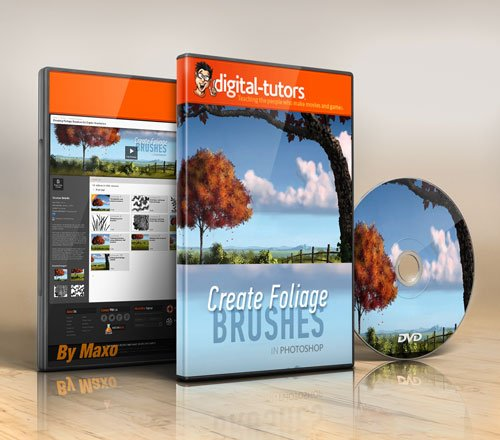 Digital - Tutors - Creating Foliage Brushes for Digital Illustration