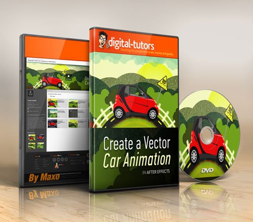 Digital - Tutors - Creating a Vector Car Animation in After Effects