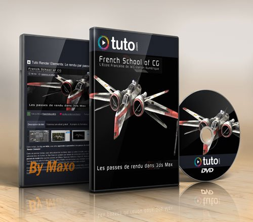 Tuto.com – Render Elements Tutorial: Rendering with 3ds Max