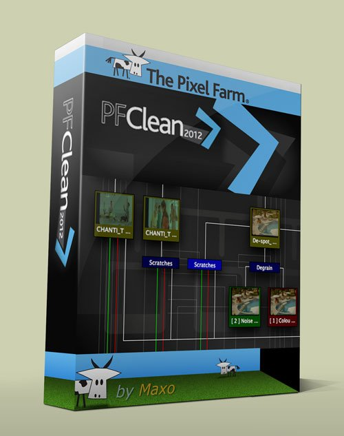 The Pixel Farm – PFClean 2012.4.1 Win/Mac