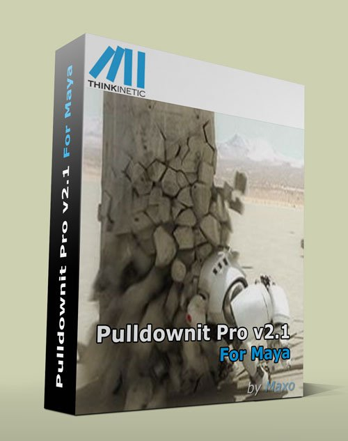 Thinkinetic Pulldownit Pro v2.1 For Maya