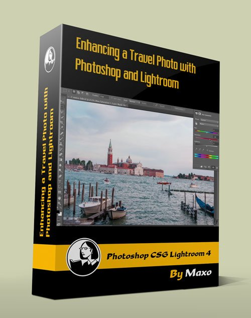 Enhancing a Travel Photo with Photoshop CS6 and Lightroom 4