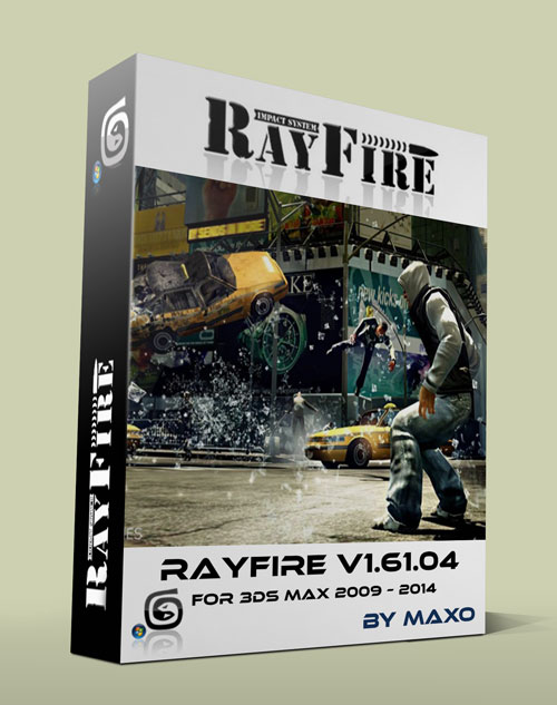 RayFire Tool v1.61.04 for 3ds Max 2009 – 2014 – x64Bit Win