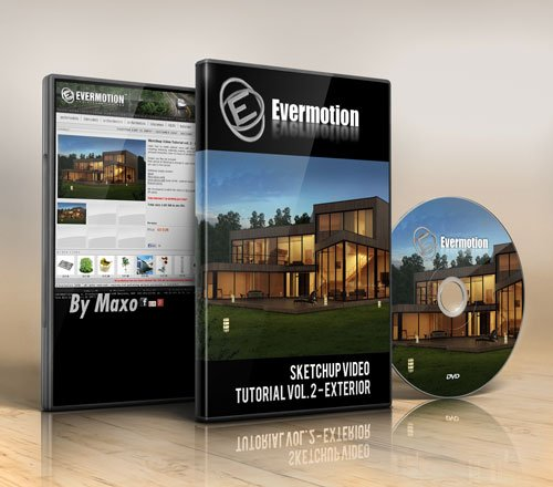 Evermotion - Sketchup Video Tutorial vol. 2 - Exterior
