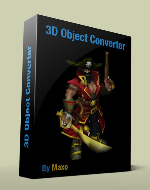 3D Object Converter 5.001 Gold Edition