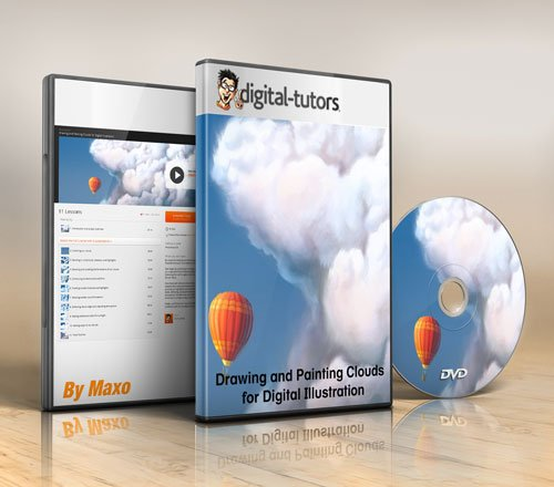 Digital - Tutors - Drawing and Painting Clouds for Digital Illustration