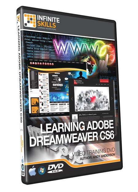 Infiniteskills - Learning Adobe Dreamweaver CS6 Training Video