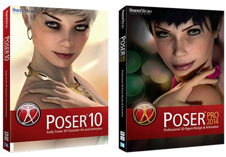 Smith Micro Poser Pro 2014 SR1 with  Contents