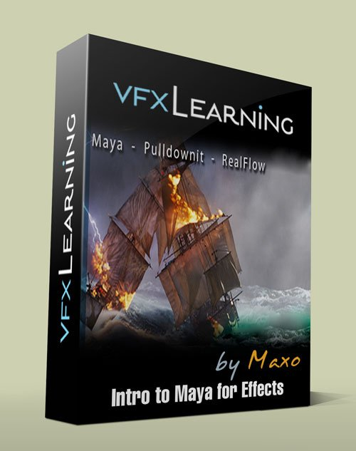 VFXlearning - Intro to Maya for Effects