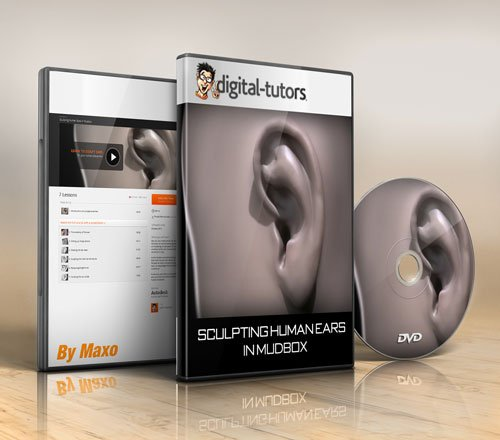 Digital - Tutors - Sculpting Human Ears in Mudbox