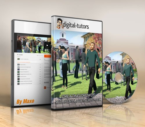 Digital - Tutors - Creating Crowds with Populate in 3ds Max