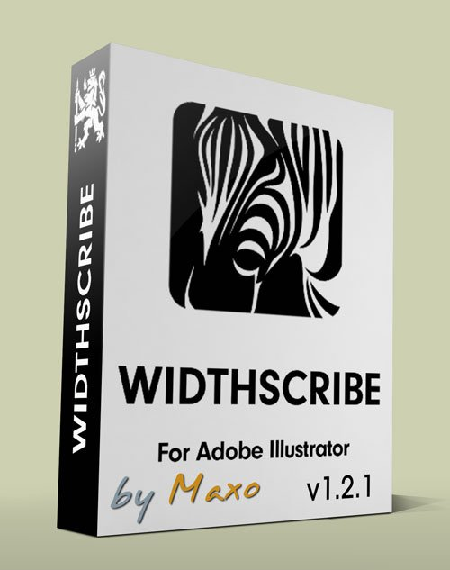 Astute WidthScribe v1.2.1 for Adobe Illustrator - Win/Mac