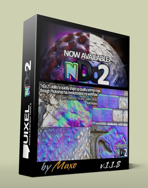 Quixel nDo2 v1.1.8 x32/64bit for Photoshop