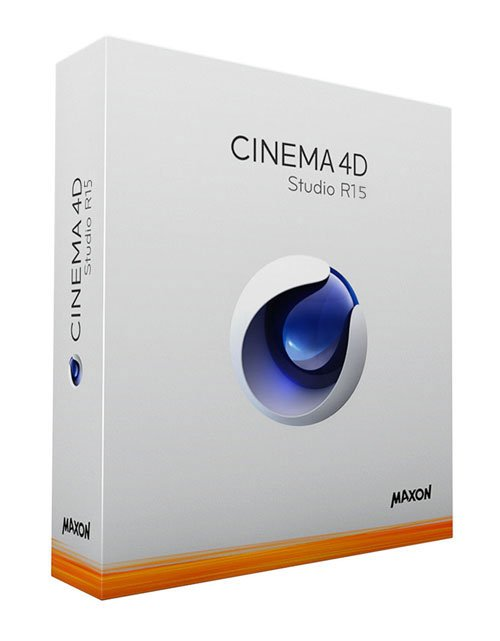 Maxon Cinema 4D R15 Retail Multilingual Win/Mac with Goodies DVD & update