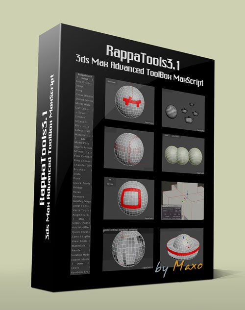 RappaTools3 (1444 aka 3.1) For 3ds Max 2014