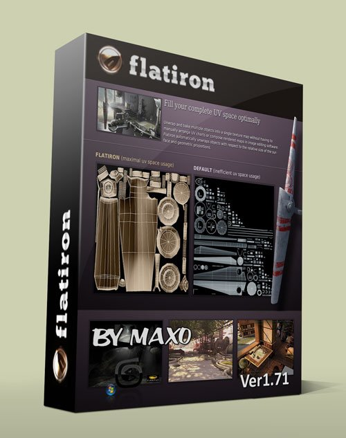 3D-IO Flatiron 1.71 For 3ds Max 2014