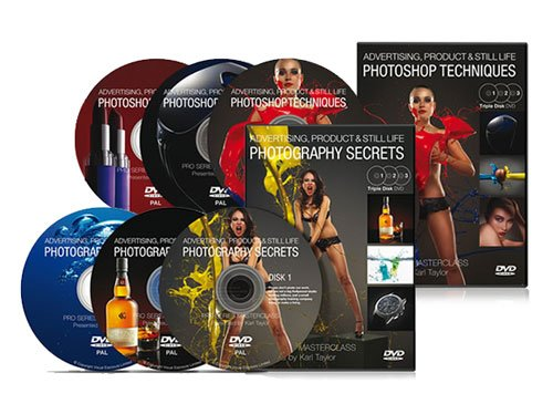 karltaylor: Advertising, Product & Still Life Photography Secrets (6 Discs )
