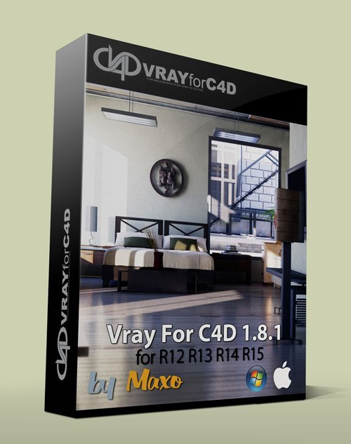VRAY for C4D 1.8.1.63 Win/Mac
