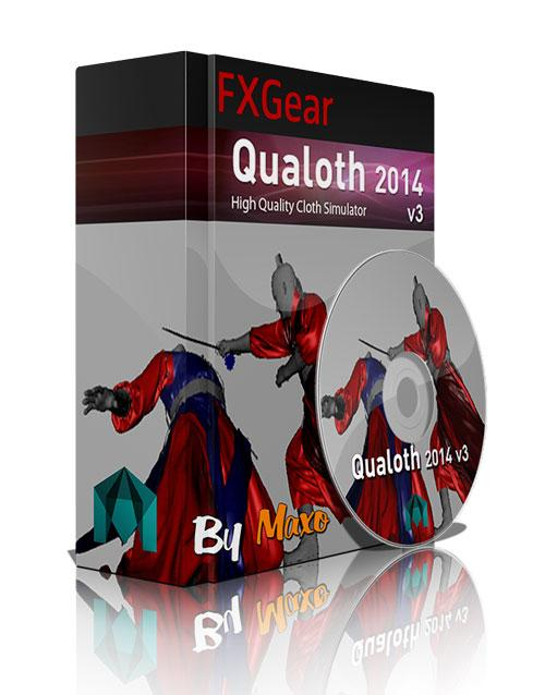 FXGear Qualoth 2014 v3 For Maya 2011 – 2014 – x64bit Win