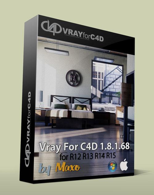 VRAY for C4D v1.8.1.68 Win/Mac