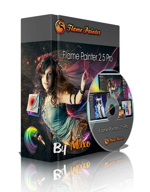 EscapeMotions Flame Painter 2.5 Pro x32/64bit Win