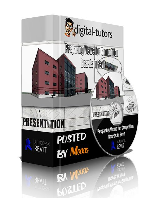 Digital - Tutors: Preparing Views for Competition Boards in Revit