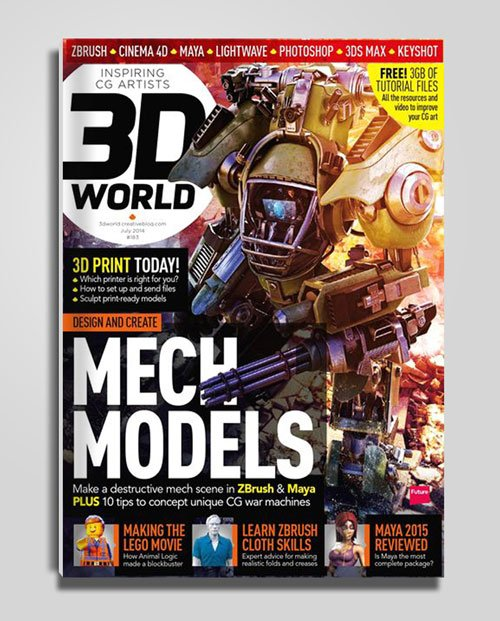 3D World Magazine - July 2014