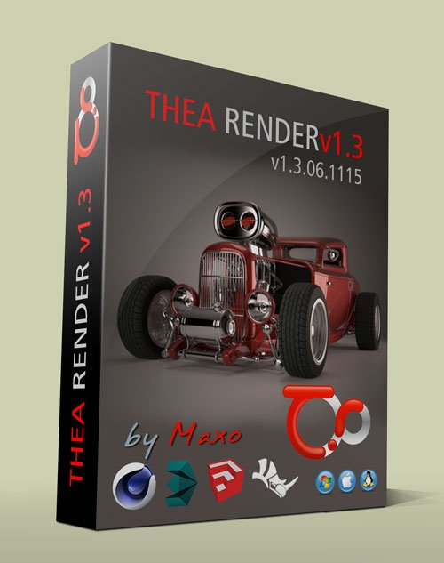 TheaRender v1.3.06.1115 + Plugins Win/Mac/Linux
