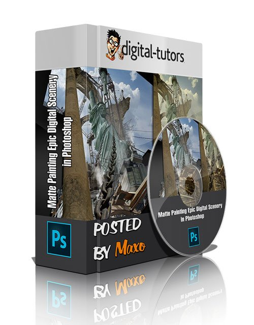 Digital - Tutors: Matte Painting Epic Digital Scenery in Photoshop
