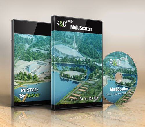 MultiScatter v1.3.1.3a x64 for 3Ds Max, Vray 3.0