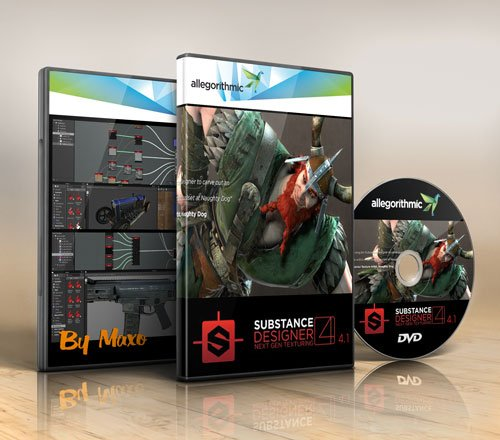 Allegorithmic Substance Designer v4.4.1 Build 14133 Win/Mac