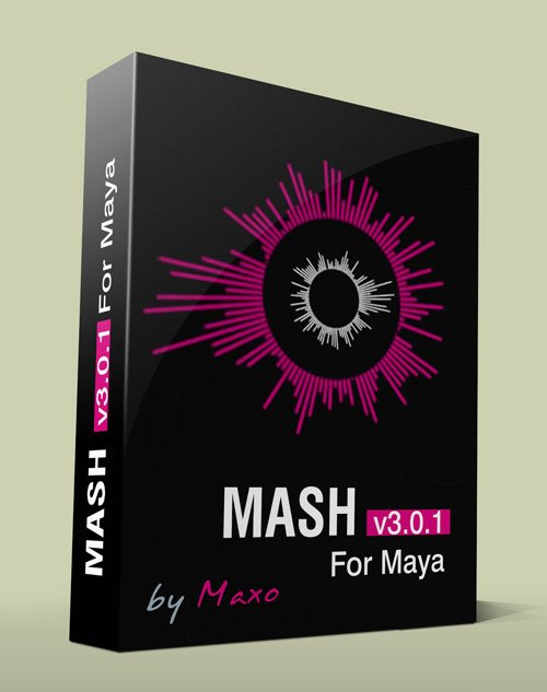 Mainframe MASH v3.0.1 For Maya x64bit Win