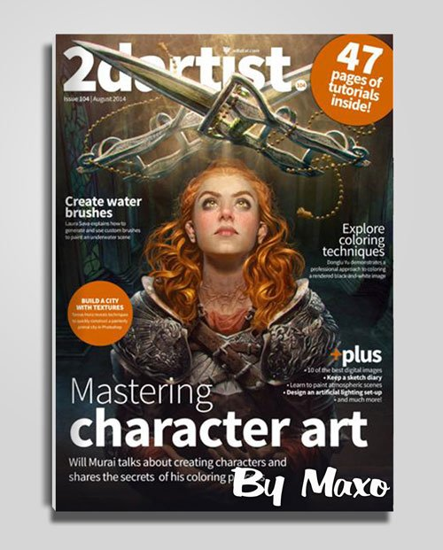 2DArtist Issue 104 - August 2014