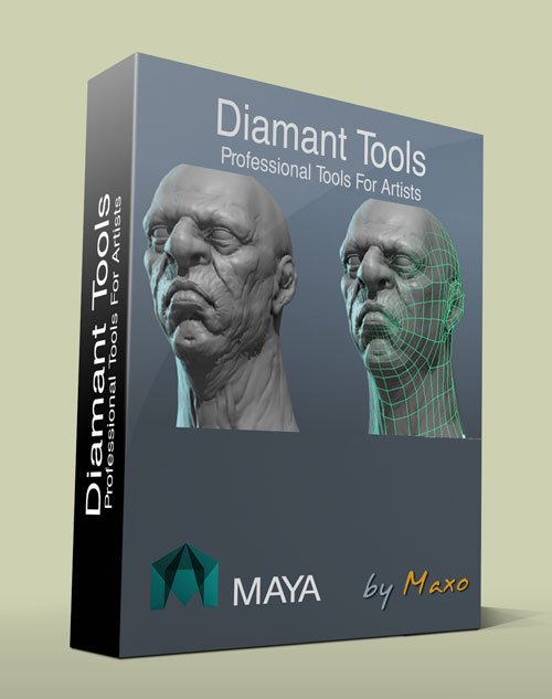 RD3D Diamant Tools v1.11 for Maya 2011-2015