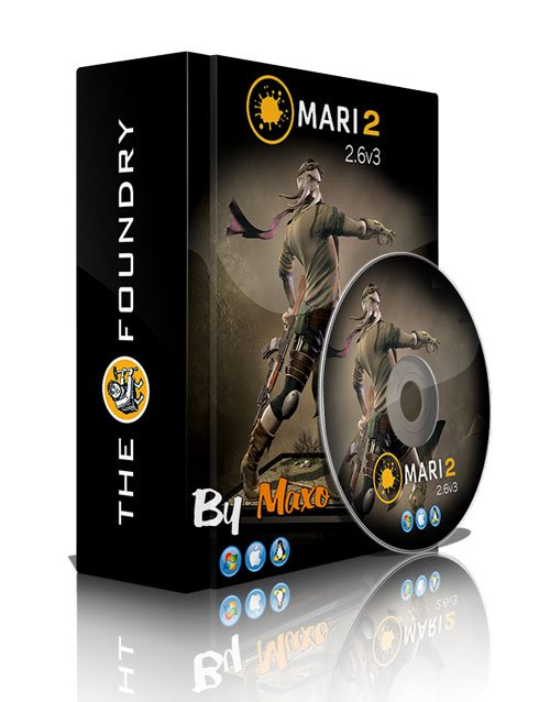 The Foundry Mari v2.6v3 Win/Mac/Linux