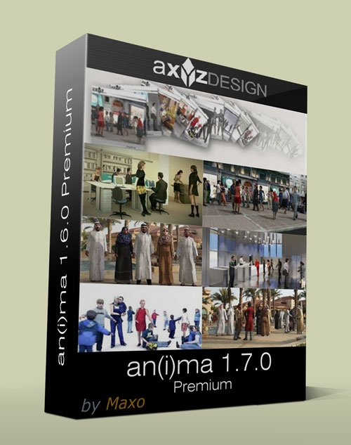 AXYZ an(i)ma v1.7.0 Premium for 3ds Max/Cinema 4D