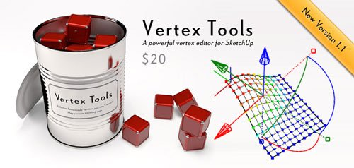 Vertex Tools 1.1.11 for SketchUp