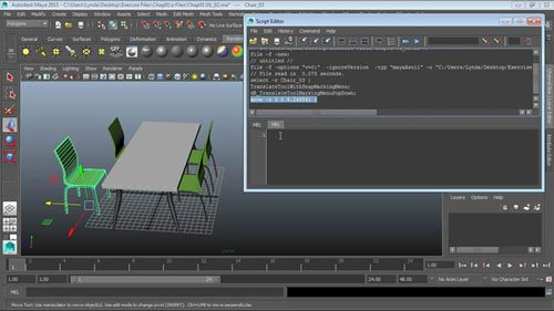 Up and Running with MEL Scripting in Maya