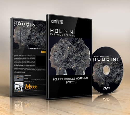 Houdini Particle Morphing Effects